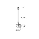 TLP116 Trac 12 MR16 Delta 200 Pendant Track Fixture 12V -  /
