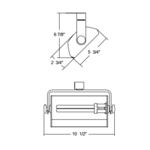 TMBX26 Mini Biax Wall Wash Fixture 120V -  /
