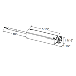 TL601E 25W Electronic Surface Mount Driver/Transformer 12V -  /