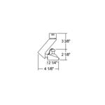 T805 MR16 Slant Gimbal Ring Track Fixture 12V -  /