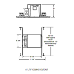 IC1 4 Inch IC New Construction Housing -  /