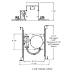 IC20 5 Inch IC New Construction Housing -  /