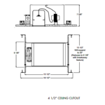IC44N 4 Inch Air Loc IC New Construction Housing -  /