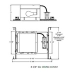 IC6 8 Inch Square IC New Construction Housing -  /