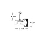 T305 PAR30 Step Cylinder Track Fixture 120V -  /