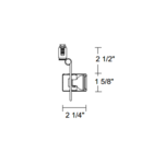 TL112 MR11 Mini Cylinder Track Fixture 12V -  /