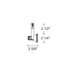 TL143 MR16 Notchback Track Fixture 12V -  /