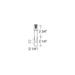 TL296 MR16 Open Back Gimbal Ring Track Fixture 12V -  /