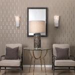 Borealis Hexagon Wall Light -