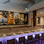 Monorail System with Low Rider Heads  | by Edge Lighting<br />Kabocha | Japanese Brasserie