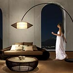 Kai Arc Floor Lamp by Hive