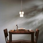 Kakomi Mini Adjustable Pendant by Hubbardton Forge