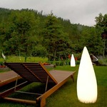 Kanpazar Outdoor Floor Lamp  -  /