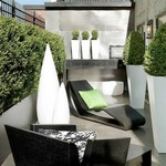 Kanpazar Outdoor Floor Lamp  by B.Lux