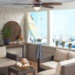 Kaya Ceiling Fan with Light by Fanimation
