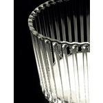 Klint LED Table Lamp - Chrome / Transparent