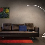 Kyudo Floor Lamp by Kundalini