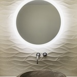Trinity Lighted Mirror by Electric Mirror