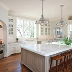Lansing Solid Pendant by Hudson Valley Lighting