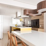 Organic Triple Curved Pendant by Lightology Collection