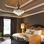 Le Marais Chandelier in Bedroom