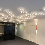 Led Net Line Ceiling Light by Artemide