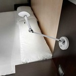 Suite Swing Arm Wall Lamp - White /