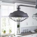 Lennex Island Chandelier by Feiss