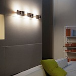 Lens Wall Sconce by Oluce Srl