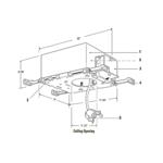 Lytecaster 1000P1 5 In Non-IC Standard Frame-In Kit 120V -  /