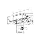 Lytecaster 1100AICM 6.75 In AirSeal IC Frame-In Kit 120V -  /
