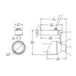 Lytespan Alcyon MR16 Mini Wall Wash Track Head -  /