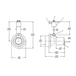 Lytespan Alcyon Open Ring PAR20 Track Head -  /