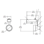Lytespan Alcyon Enclosed Step Spot MR16 Track Head -  /