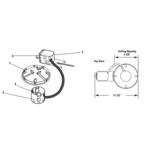 Lytecaster 2003R 3.75 In Non-IC Remodel Frame-In Kit 120V -  /