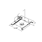 Evolution C3ALV 3 In AirSeal Non-IC Mag Frame-In Kit 120/277 -  /