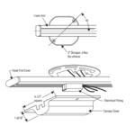 Radius Track 9163 Saddle Canopy Kit -  /
