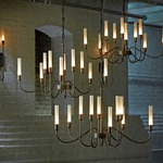 Lisse 10 Arm Chandelier -  /