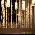 Log Pendant -  / White