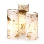 Log Table Lamp -  / White