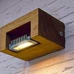 Log Outdoor Wall Sconce by Lightology Collection