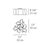 Logico Micro Triple Nested Ceiling Mount -  /