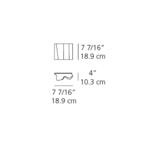 Logico Micro Single Wall Sconce -  /