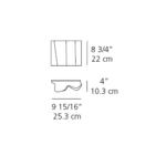 Logico Mini Single Wall Sconce -  /