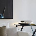 Loop Table Lamp - Chrome /