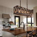 Lumiere Island Pendant by Feiss