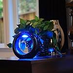 Lune LED Table Lamp - White / Multicolor