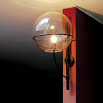 Lyndon Outdoor Wall Sconce by Oluce Srl