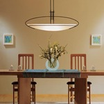 Mackintosh Large Oval Adjustable Pendant by Hubbardton Forge