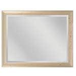 Maddux Mirror - Antique Pewter / Black Trace /